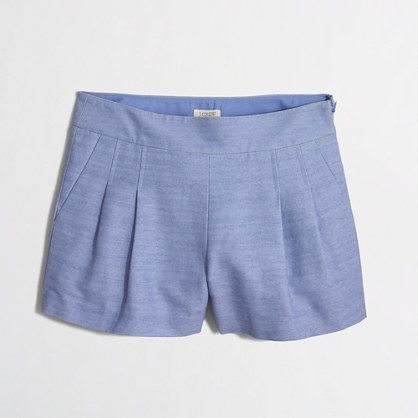 J.Crew Factory - Factory pleated short
