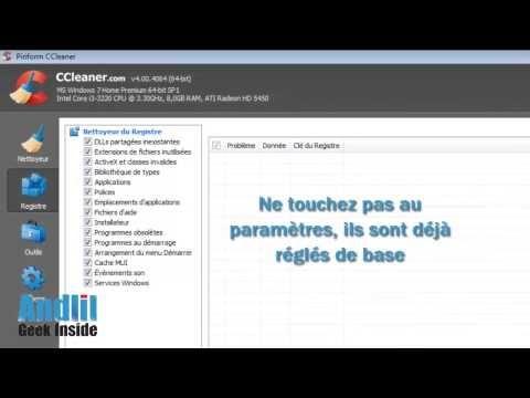 Comment utiliser Ccleaner et optimiser son pc ? - http://www.andlil.com/comment-utiliser-ccleaner-et-optimiser-son-pc-145054.html