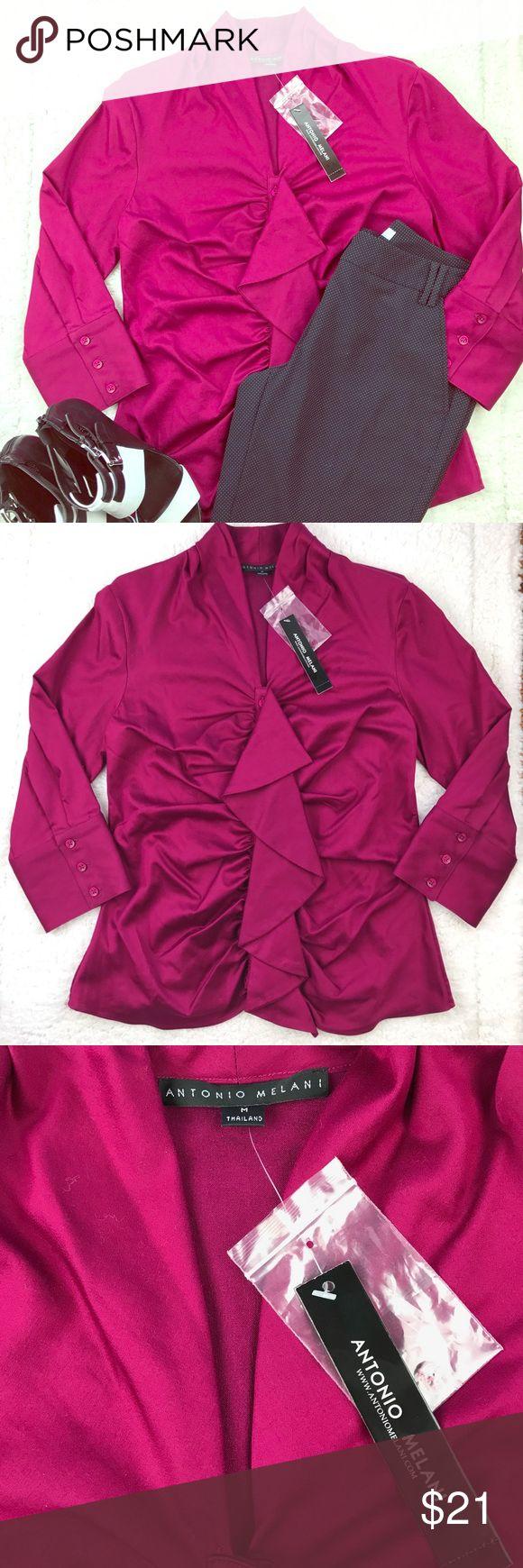 Antonio Melani burgundy too Antonio Melani burgundy top/beautiful 💕/ in size M Tops Blouses