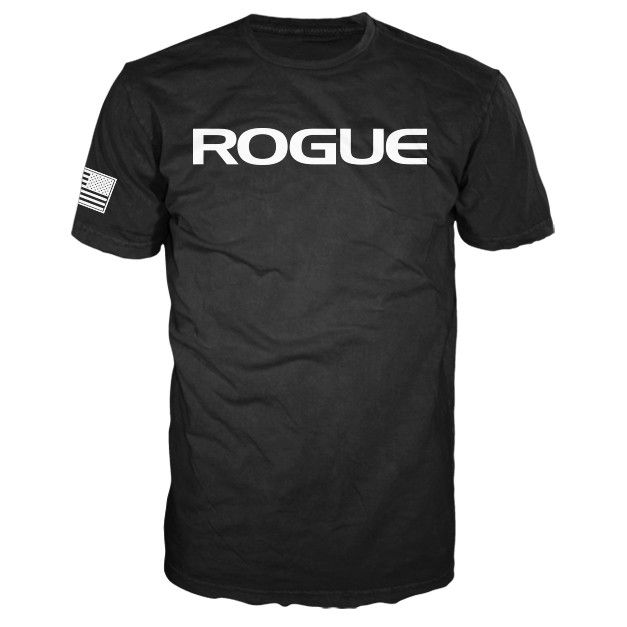 Rogue Basic T Black - Garrett - Large