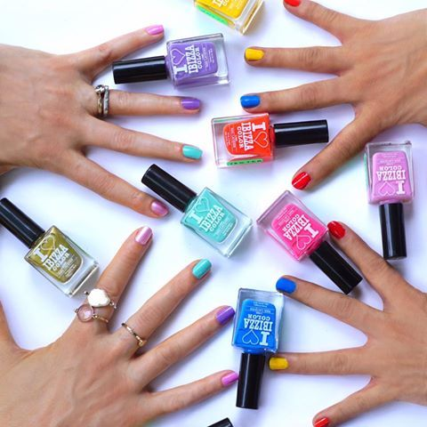 Lights or brights - take your pick from the 5 chemical free range of Ibizza Color nail enamels available on msmbox.com! . ‪#‎BFF‬ ‪#‎BestFaceForward‬
