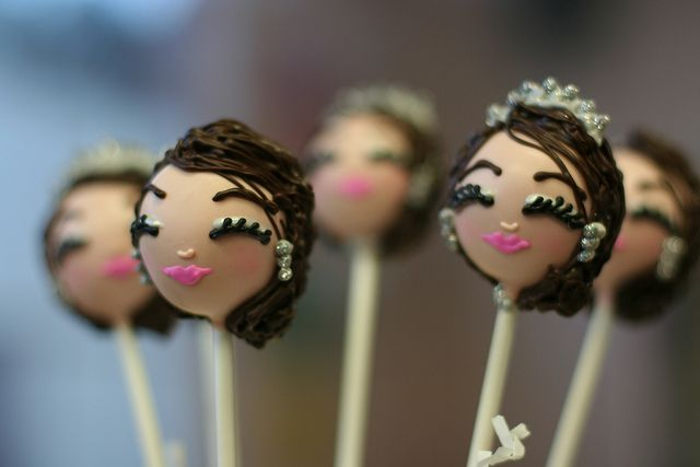 Bachelorette Cake Pops by Sweet Lauren Cakes, via Flickr