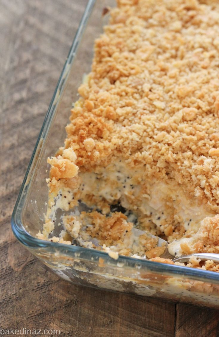 Poppy Seed Chicken Casserole                                                                                                                                                                                 More