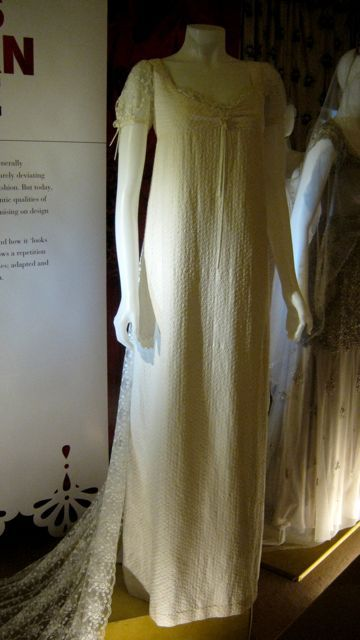 Dress worn by Gwyneth Paltrow for the wedding in Sense and Sensibility