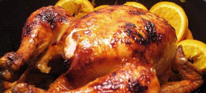 Κοτόπουλο με πορτοκάλι και τζίτζερ, είναι καλύτερο