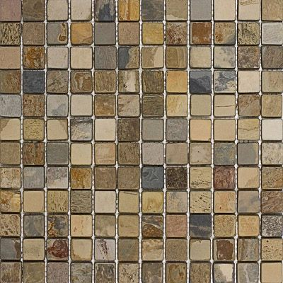 Epoch Tile Fall Tumbled Slate Mosaic Floor Or Wall 1