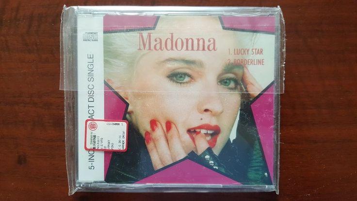 Madonna – Lucky Star / Borderline CD EU 7599-21139-2 Mint Rebel Heart Tour