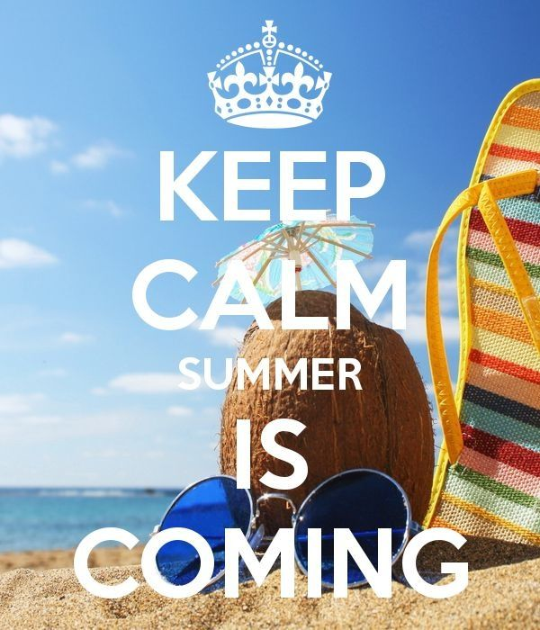 Summer, please come faster!!!!