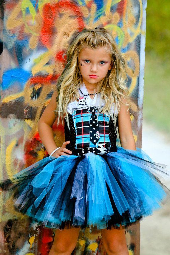 Monster High Inspired Frankie Stein  by TutuSpoiledBoutique