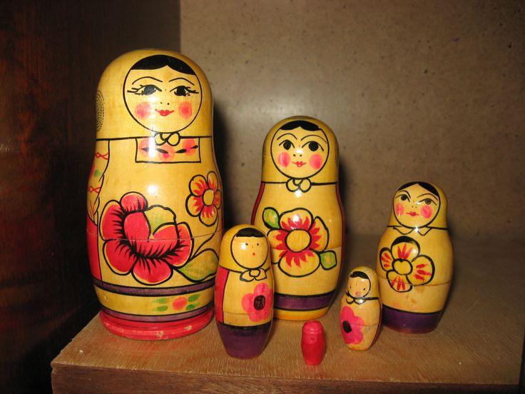 Матрёшки Елены :3 Советские игрушки - http://samoe-vazhnoe.blogspot.ru/