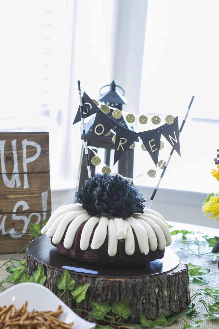 Where the Wild Things Are birthday party; Nothing Bundt