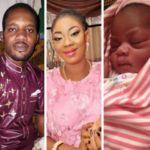 Imprisoned Seun Egbegbe welcomes baby girl with his beautiful girlfriend