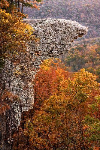 Hawksbill Crag, Buffalo River, Arkansas.