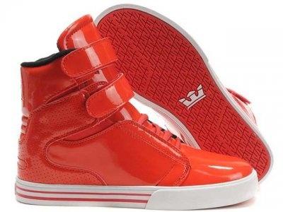 Women Supra TK Society Hot Red Shoes 516B-11a - $76.50 : Cheap Supra