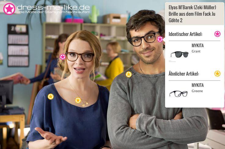 Elyas M'Barek (Zeki Müller) Brille (MYKITA - Grant) aus dem Film Fack Ju Göhte 2