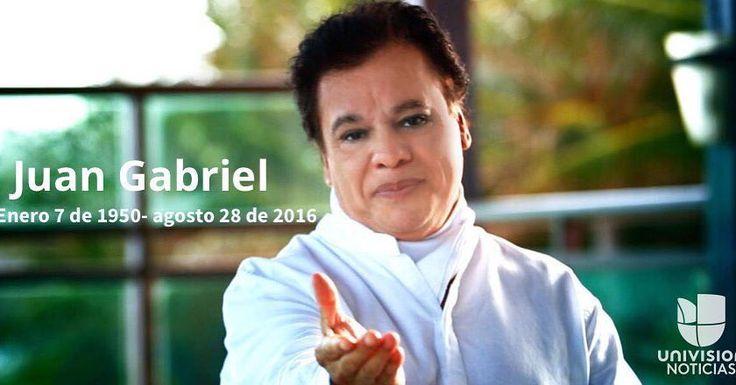 Juan Gabriel falleció en Santa Mónica a los 66 años de edad uni.vi/Hd10303F7fs