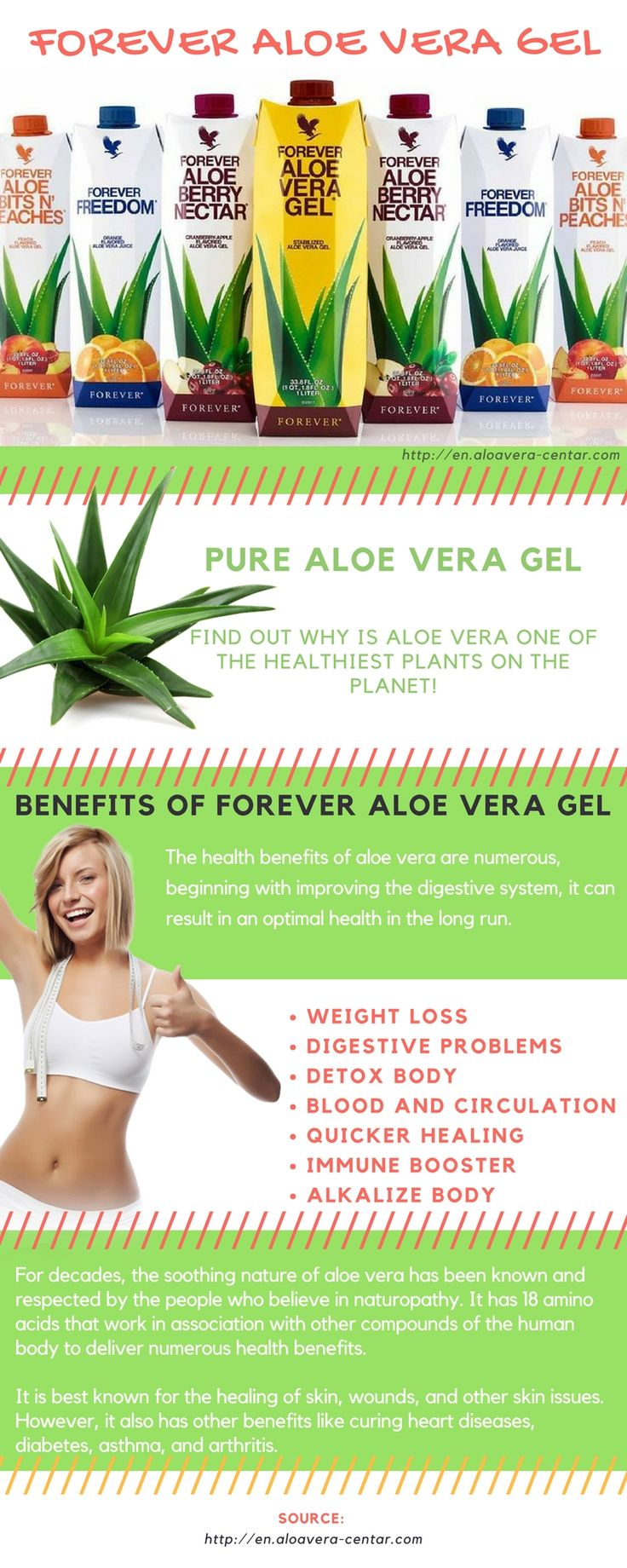 Aloe Vera gel benefits - 100% PURE Aloe Vera