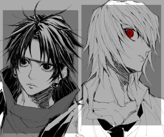 Kurapika And Chrollo Lucifer Hunter X Hunter