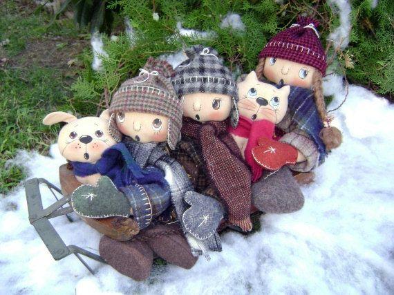 CF257 December's Snow Much Fun