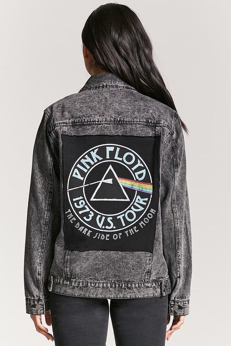 Pink Floyd Graphic Denim Jacket