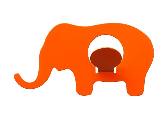 Elephant hangers. Fun and affordable.