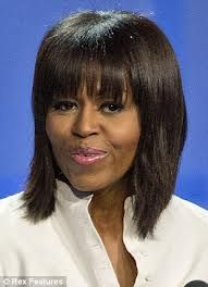 Mishel Obama hair style http://www.cshairaffair.com