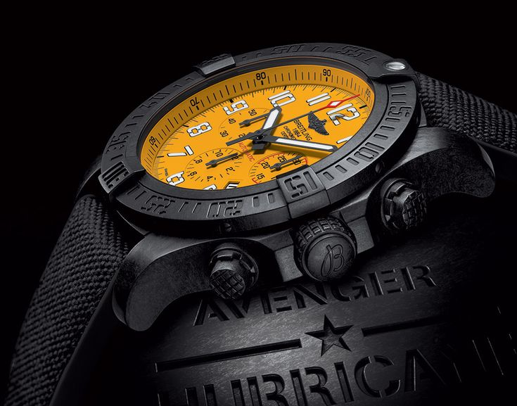 Breitling Avenger Hurricane Watch   The Coolector