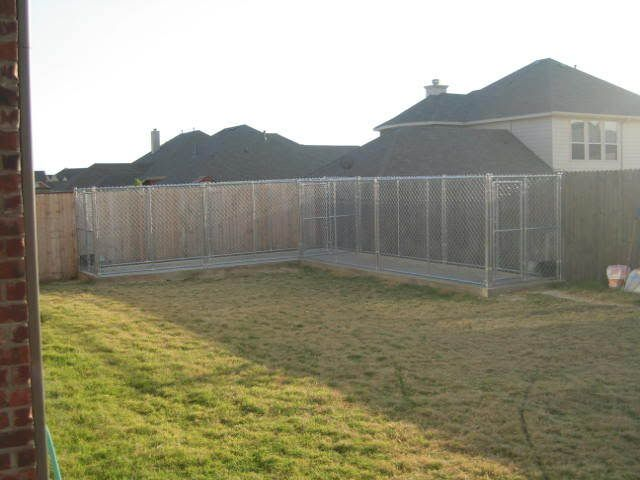 Backyard dog kennel ideas online for Best dog boarding dc