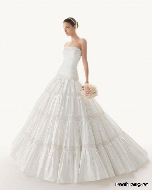 Свадебная роскошь от Rosa Clara - 2013