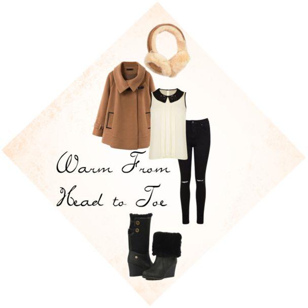 warm and stylish from head to toe. Acacia  http://www.koalabi.com/women/acacia.html hayden http://www.koalabi.com/women/women-accessories/hayden-6522.html