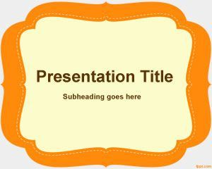 Elementary Powerpoint Template Ppt Template Powerpoint Education