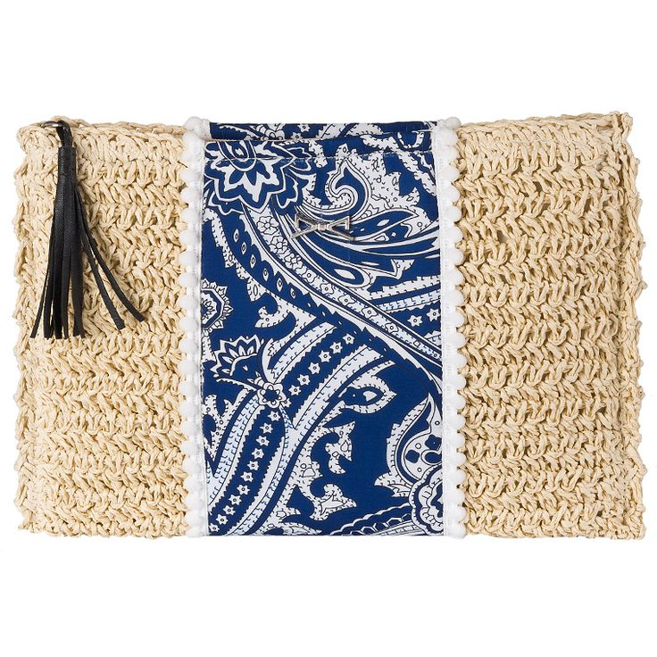 Achilleas Accessories - Products : NEW IN | SS 2016 / Bags / Envelopes #spring #summer #boho #ethnic #straw #clutch #envelope