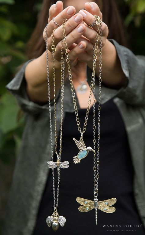 Winged Pendants • Waxing Poetic                              …