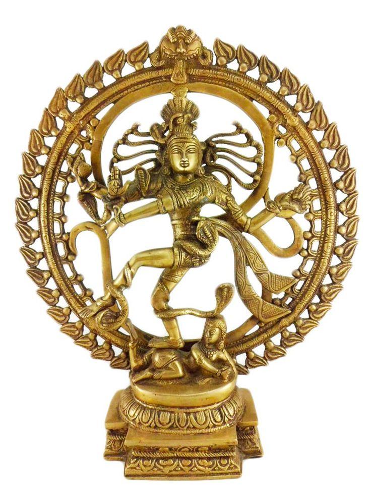 Nuestra estatua de Shiva Nataraja de 9 kg. El Shiva que baila, o dancing Shiva, en el proceso de destrucción y creación del Universo