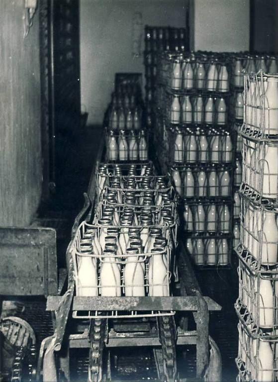 Milk bottles. Soviet Union