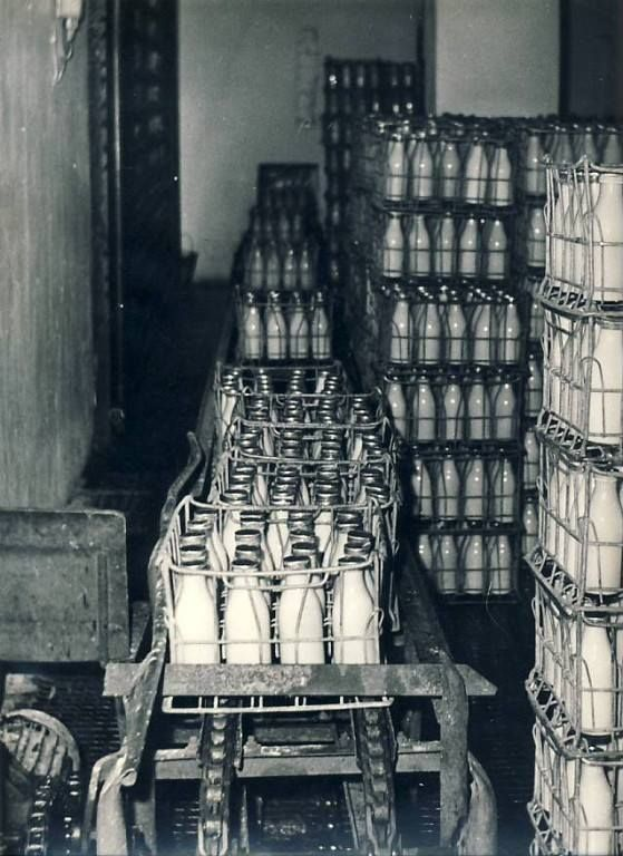 Milk bottles. Soviet Union