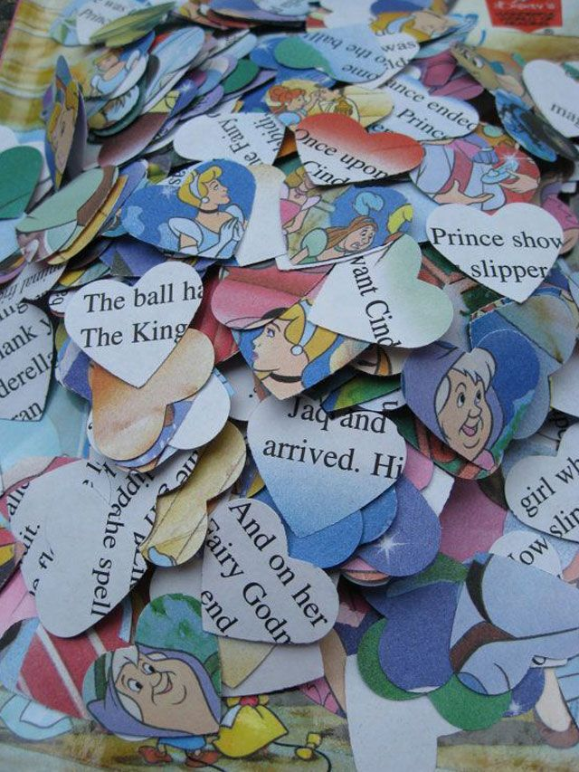 Cinderella Confetti or any from fairytale books!