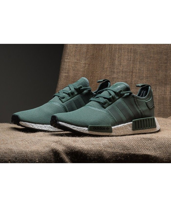 100% high quality unique design amazing selection Adidas NMD R1 Mens Primeknit Trace Green Shoe in 2019 ...
