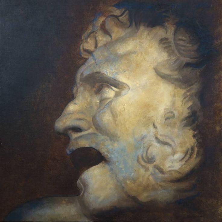 "Saatchi Art Artist Juan Manuel Álvarez Cebrián; Painting, ""Rostro_nº-4"" #art"