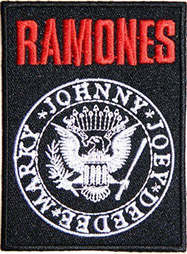 RAMONES Band Heavy Metal Punk Rock Logo Sign Patch Iron o...