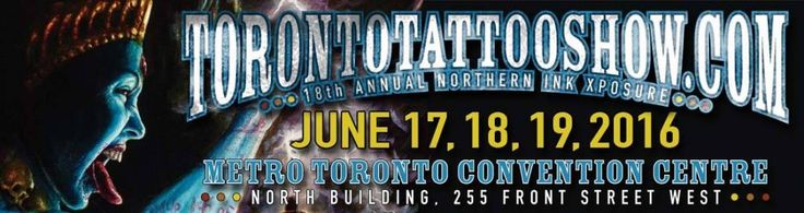 Running from Thursday, June 16th to Sunday, June 19th will be the 18th annual Northern Ink Xposure Toronto Tattoo Show. From the star studded guest list, to the music and the annual contests, this year's showing will be packed with a plethora of things to do and see. Best of all, there will be several internationally renowned tattoo artists in attendance, including Paul Booth, Flip and Titine Leu, Kurt Wiscombe, Alex Adams and many more.