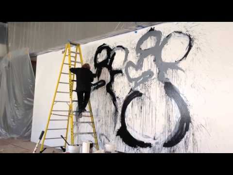 ▶ Joyce Pensato CAM Mural - YouTube