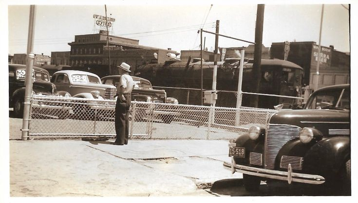 """Vintage Photo """"Cars For Sale"""" Used Car Lot Street Car Trolley Faceless Man With Back To Camera Sierra Beer Sign Found Vernacular Photo by SunshineVintagePhoto on Etsy https://www.etsy.com/listing/581167555/vintage-photo-cars-for-sale-used-car-lot"""