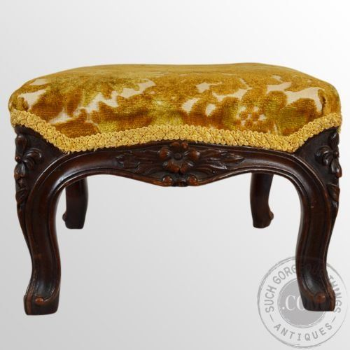 Small Antique Footstools Antique Footstool Gout Stool