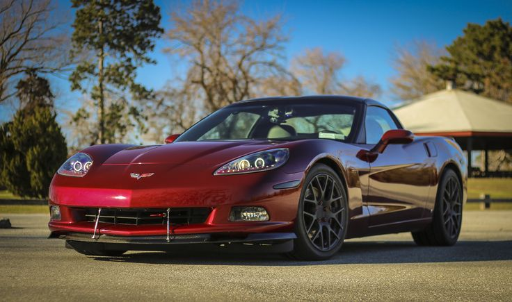 2007 Corvette Coupe with Splitter and TSW Wheels