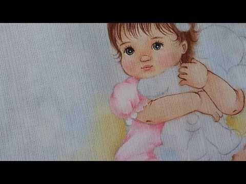 Como pintar roupinha.2 - YouTube