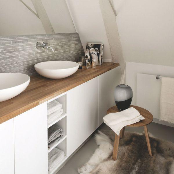 65 best images about bathroom on pinterest black white for Salle de bain nordique