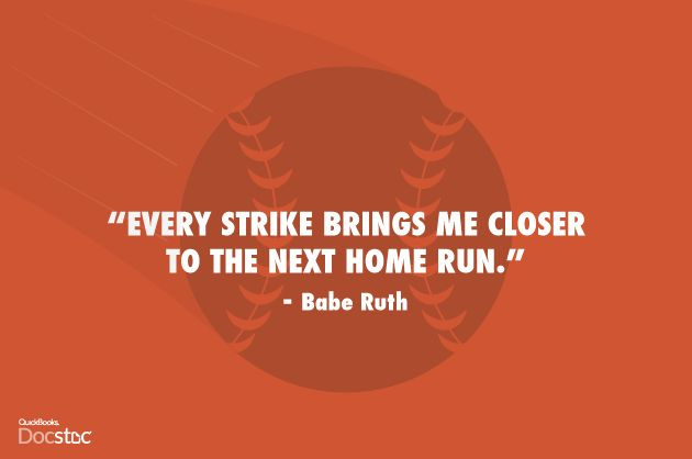 Persistence Motivational Quotes: 1000+ Babe Ruth Quotes On Pinterest