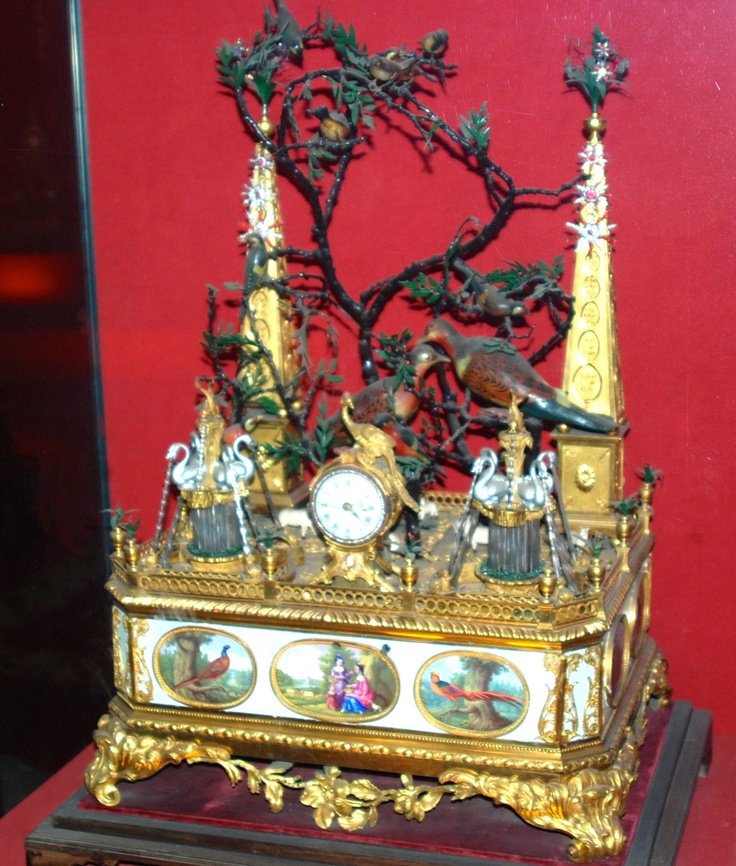 Clock on display in the Forbidden City.