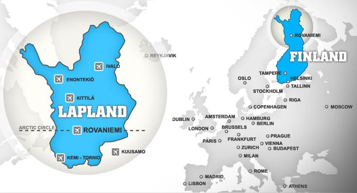 How to get to Lapland?